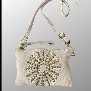 🇮🇹 Viola Castellani Studded Leather Crossbody